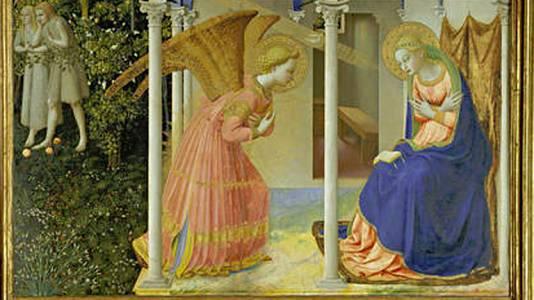 La Anunciación (Fra Angélico)