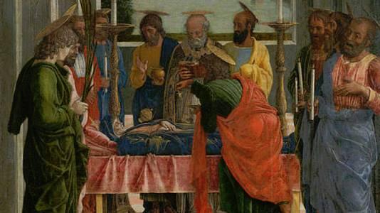 El tránsito de la Virgen (Mantegna)