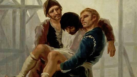 El albañil herido (Goya)