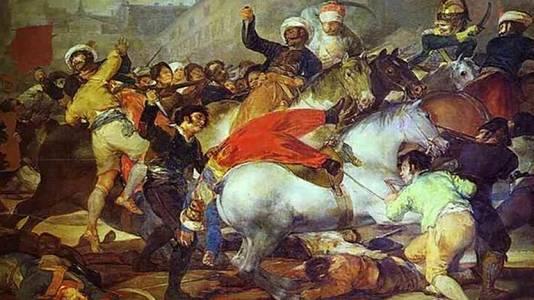 La carga de los mamelucos (Goya)