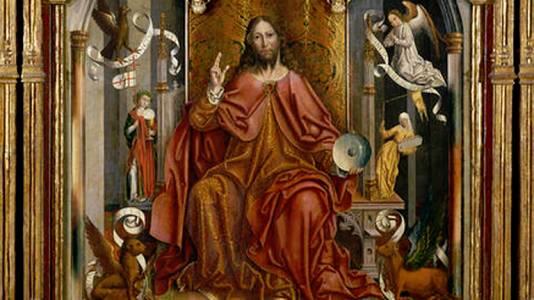 Cristo bendiciendo (F. Gallego)