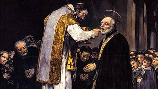 La última comunión de San José de..