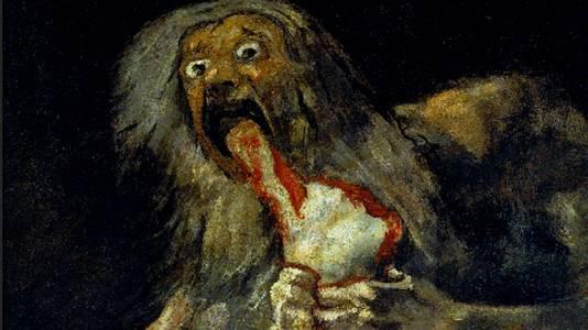 Saturno devorando a su hijo (Goya)