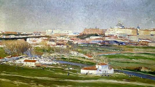 La pradera de San Isidro (Beruete)