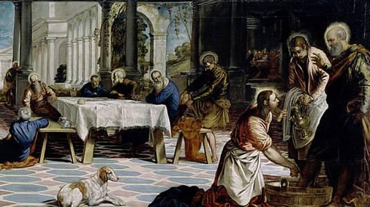 El lavatorio (Tintoretto)