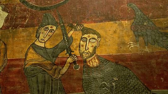 Lucha de David y Goliat (Anónimo)