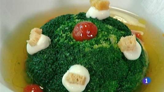 Tartar de atún y brócoli