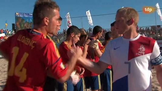 Final Liga Europea: España-Holanda