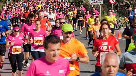Media maratón Illa Formentenra