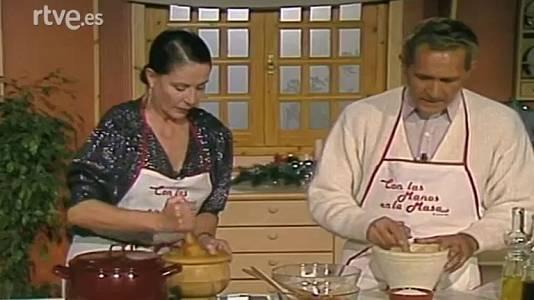 Salmorejo con Antonio Gala