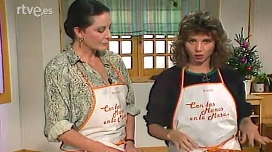 Tarta de queso y tomate al estragón con Victoria Abril