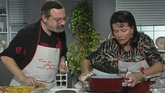 Puré de alubias y besugo al horno con Fernando Savater