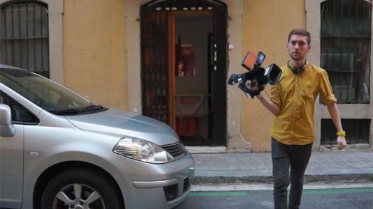Pisa la calle - Promoción Instituto Barcelona Reporterismo