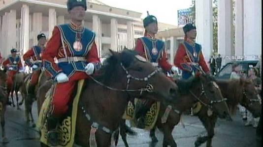 Los caballos de Gengis Khan