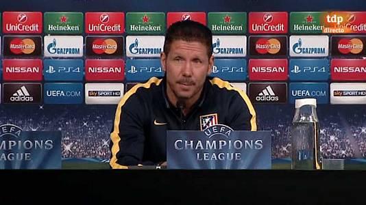 Rueda de prensa Atlético de Madrid