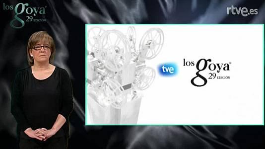 29 Edición Premios Goya en lengua de signos