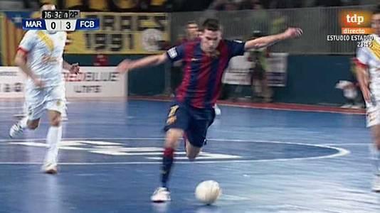 23ª jornada: Marfil Santa Coloma - FC Barcelona