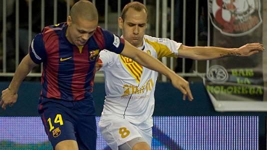 Resumen de la 23ª jornada de la Liga Nacional de Fútbol Sala