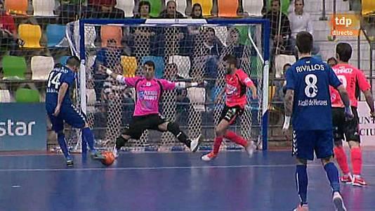 Copa de España. 1/4 de final: Inter Movistar-Burela Rubén