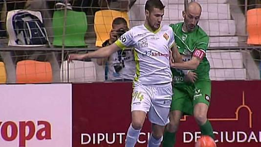 Copa de España. 1/4 de final: Magna Navarra-Palma Futsal