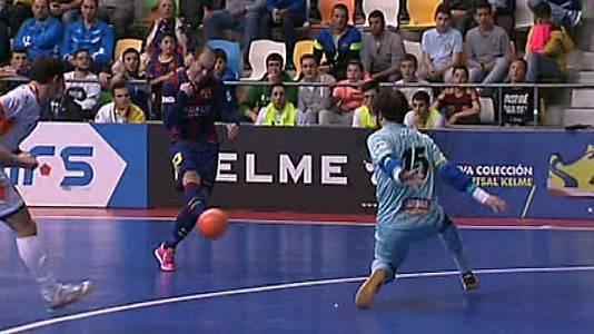 Copa España. 1/4 final: FC Barcelona-Aspid Vidal R. Navarra