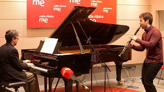 Pablo Barragán (clarinete) y Daniel del Pino (piano)
