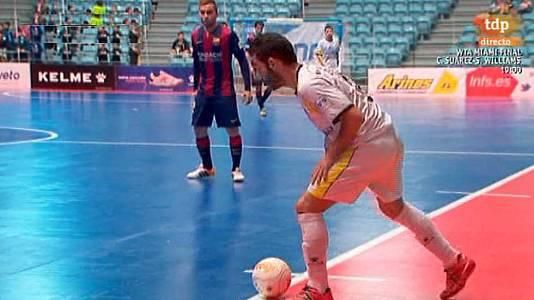 27ª jornada: Santiago Futsal - FC Barcelona