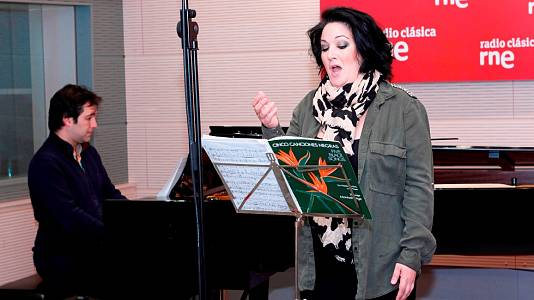 Marina Pardo (mezzosoprano) y Héctor Guerrero (piano)