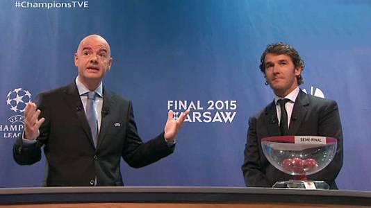 Sorteo Semifinales Uefa Champions League