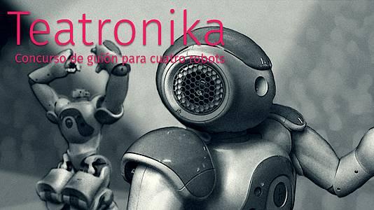Concurso de guiones para cuatro robots