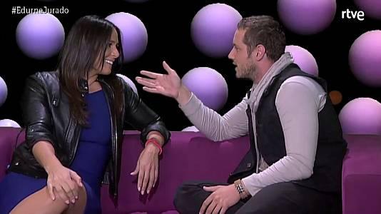Edurnevision Rosa López y Dani Diges