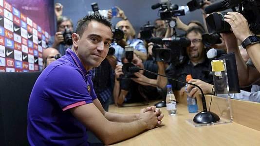 Rueda de prensa de Xavi Fernández, FC Barcelona