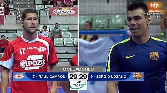 Fútbol sala - Liga Nacional. Play Off. Semifinales: El Pozo Murcia-FC Barcelona