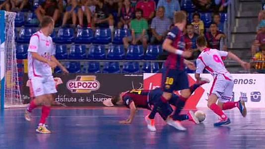 Play Off. Semifinales: FC Barcelona - El Pozo Murcia