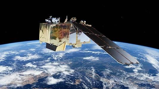Separación del satélite Sentinel 2A del lanzador Vega