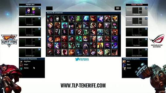 1ª Semifinal de League of Legends - Underdoges vs Pain Gamin