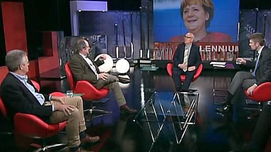 Merkel, al otro lado del muro