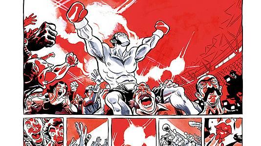 Teaser del cómic 'El boxeador'