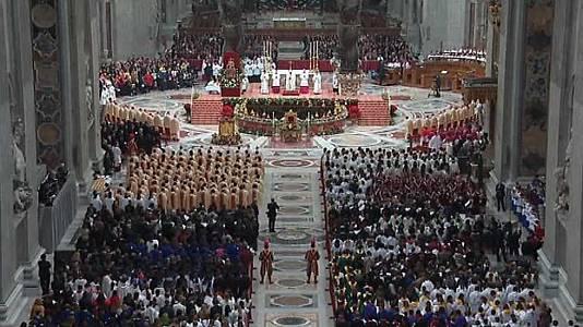 Misa de Año Nuevo y bendición Urbi et Orbi