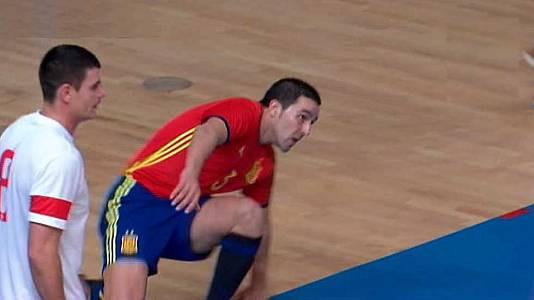 Partido inter. amistoso Asoc. de Jugadores: España - Polonia
