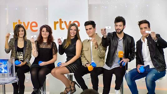 Eurovisión 2016- Rueda de prensa de los seis aspirantes
