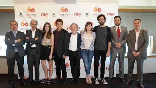 Presentació 60  Premis Sant Jordi de cinematografia