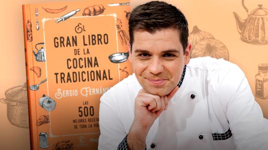 Sergio Fernández nos presenta 'El Gran libro de la cocina'