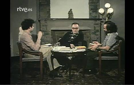 Joan Brossa y Fernando Savater