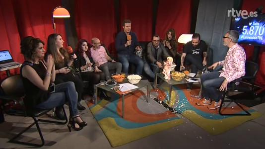 Las actuaciones de Eurovisión, en la retransmisión de RTVE.e