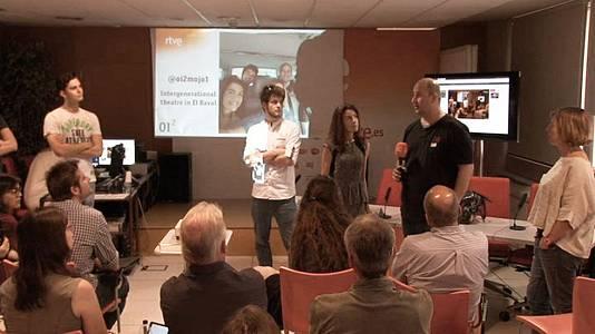 Presentación del reportaje sobre teatro intergeneracional