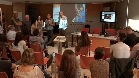 Presentación del reportaje sobre los refugiados sirios a BCN