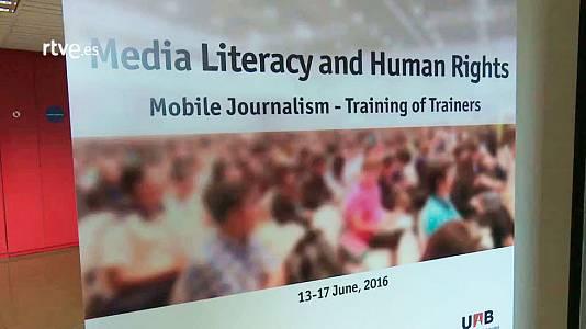 'Mobile journalism' - Making of