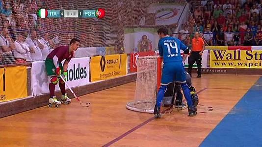 Campeonato de Europa. Final: Italia-Portugal