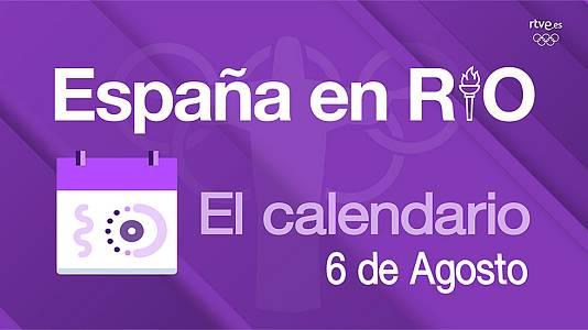 España en Río - 6 de agosto